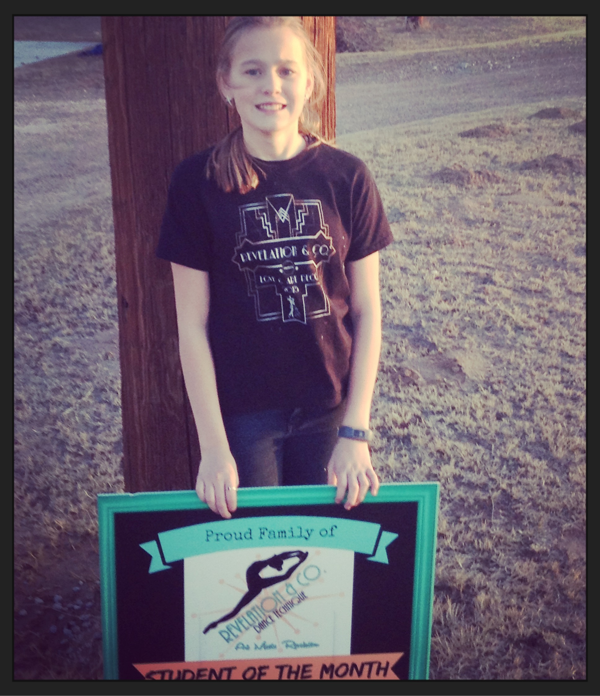 Woodward dance studio student of the month