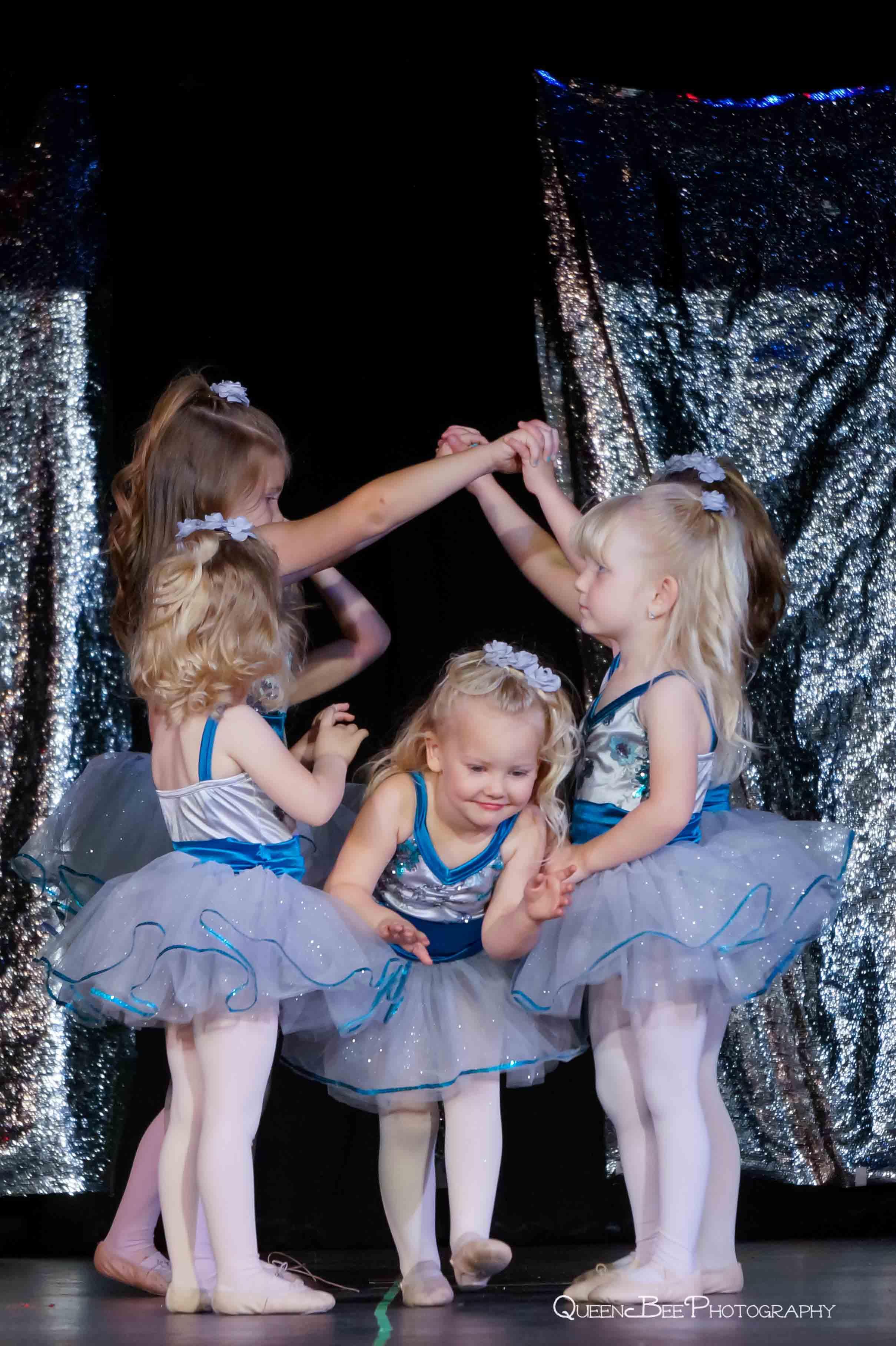 little ballet girls at woodward dance recital