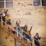 woodward girls dance studio on stairs