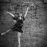 black and white dancer girl woodward oklahoma studio